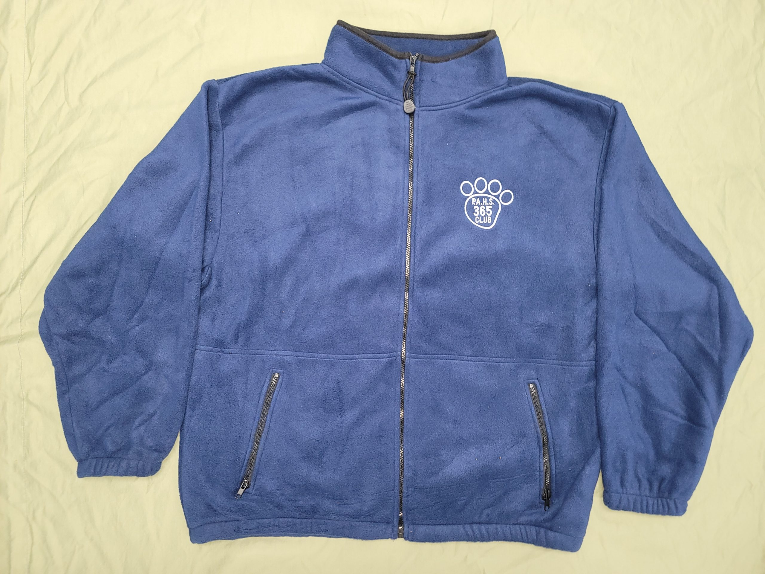 Embroidered PAHS Fleece for 365 Members